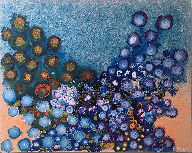 Art Review:  New Abstract Works by George Goodridge, Debra Lynn Manville, Orlando Reyes and Kati Vilim