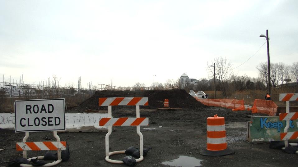 Liberty State Park Bridge Construction Resumes