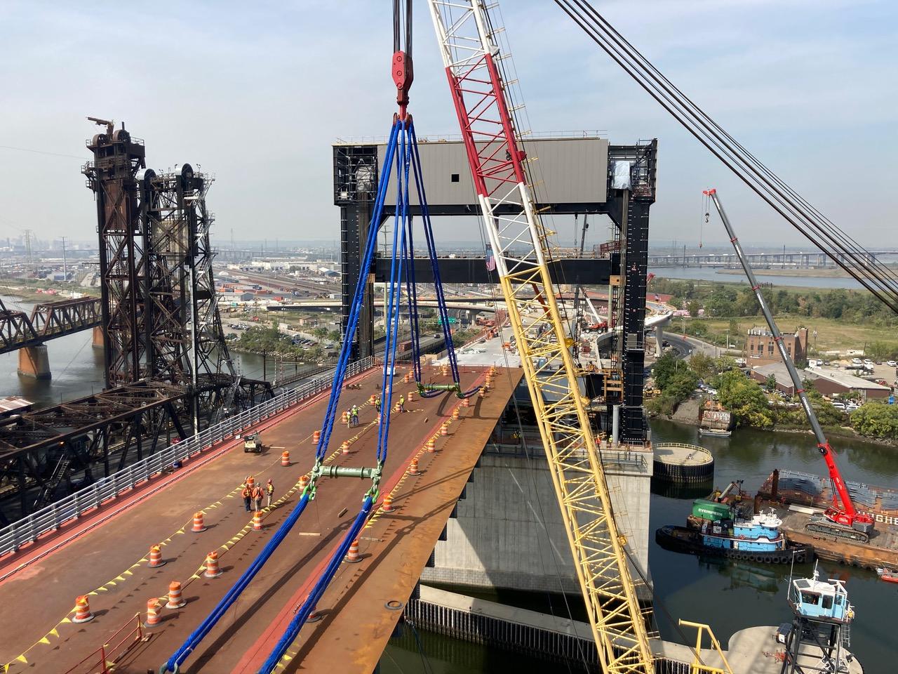 Massive Jersey City-Kearny Bridge to Open in Spring