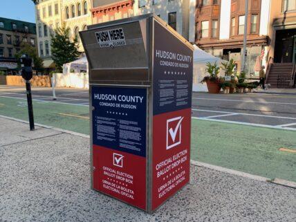 Election Drop Box Jersey City
