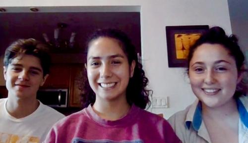 Liam Esparraguera, Franchesca Doell, Anna Prilutsky