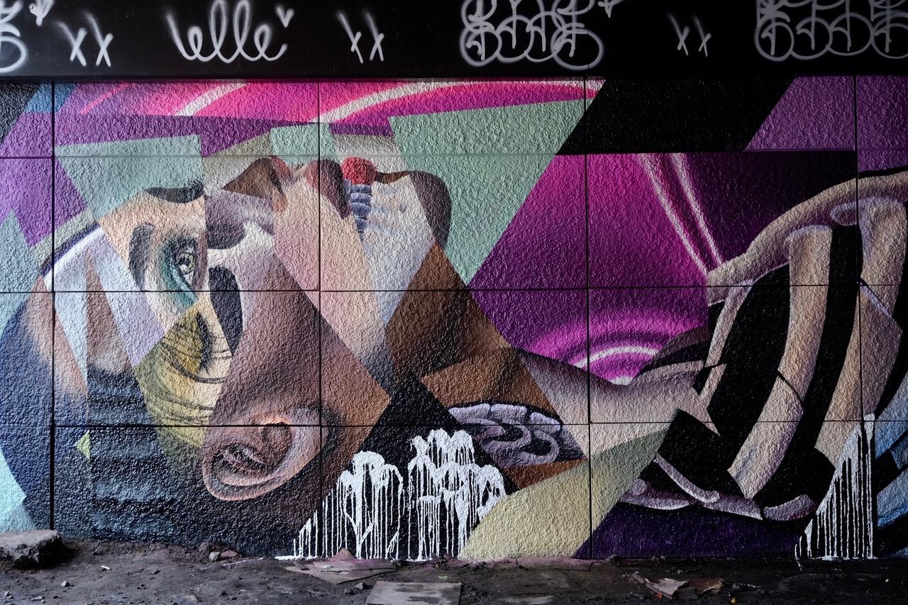 Mural Festival Brings Beauty to Gloomy Underpass