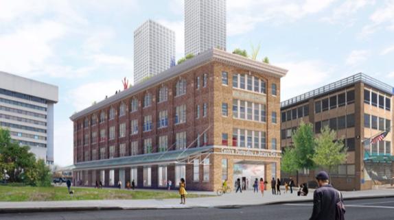 Proposed Pompidou Jersey City
