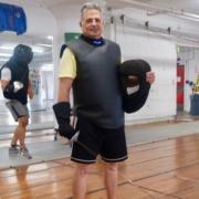 Fencing Coach Steve Kaplan