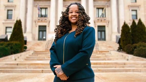 Candidate Imani Oakley