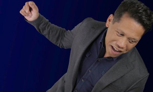 Comedian Rich Kiamco
