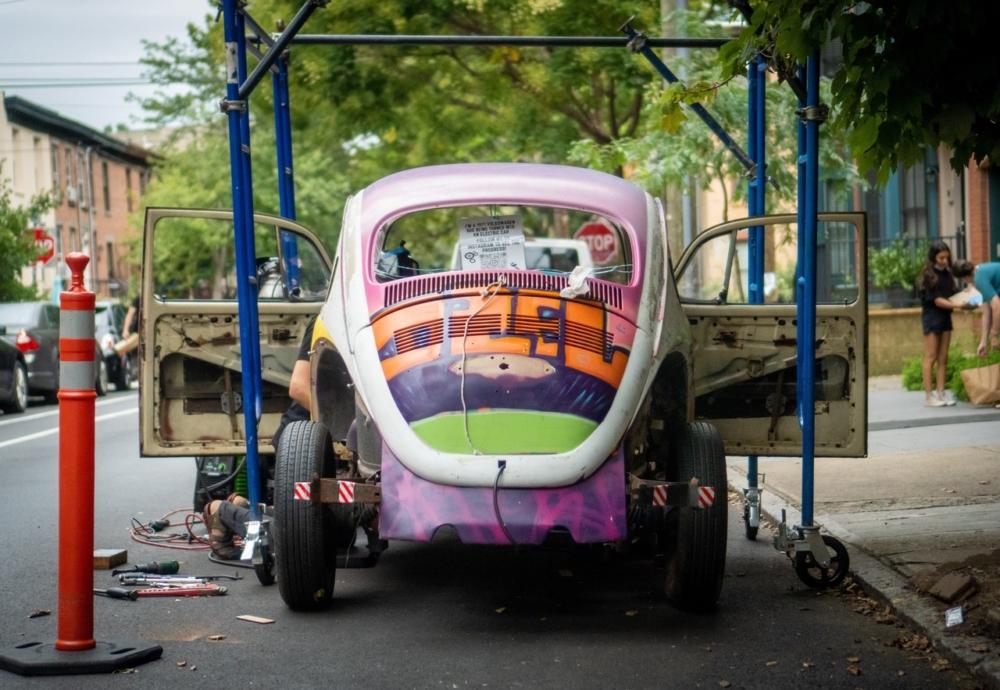 Dave and Lucas Slurzberg's VW