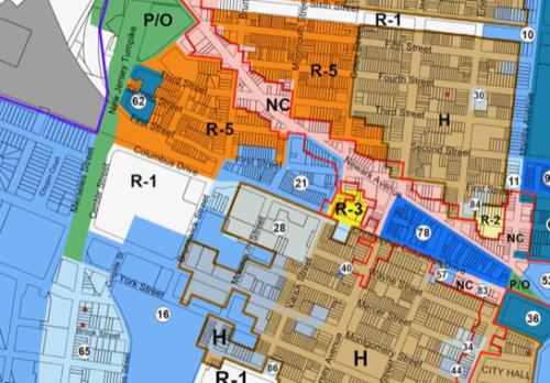 Jersey City Redevelopment Areas