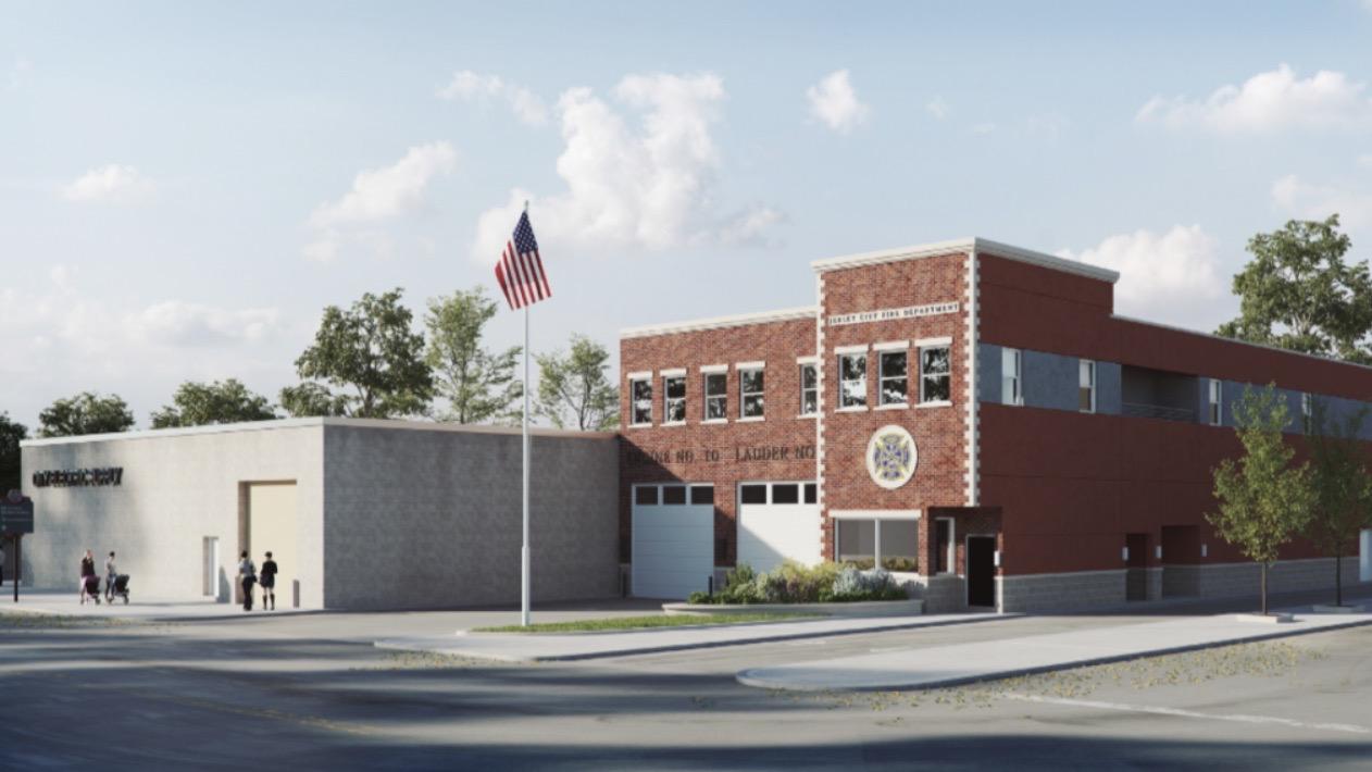Mayor Fulop Breaks Ground on New Firehouse in Bergen-Lafayette