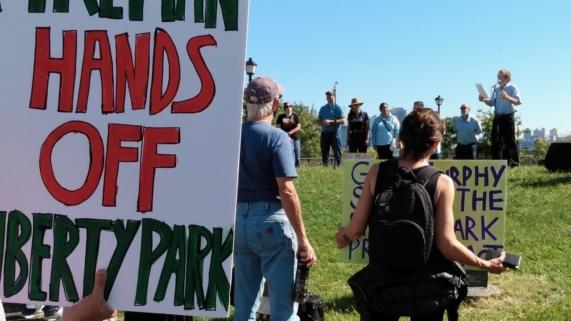Liberty State Park Demonstration Jersey City